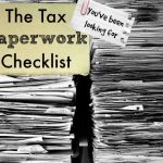 Keith Andre's Tax Paperwork Checklist