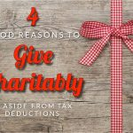 Andre + Associates' Four Good Reasons To Give Charitably, Aside From Tax Deductions