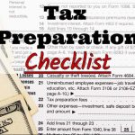 Andre + Associates, PC's 2017 Tax Preparation Checklist